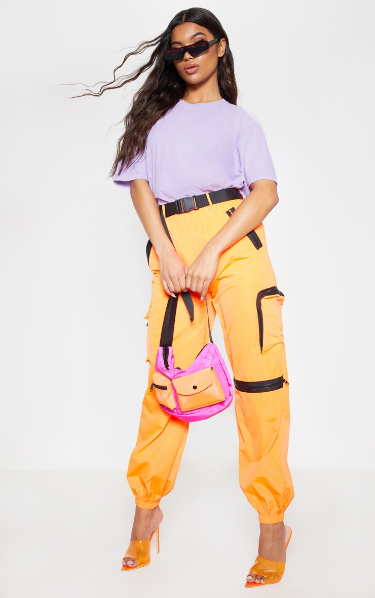 Ultimate Lilac Oversized T Shirt 4