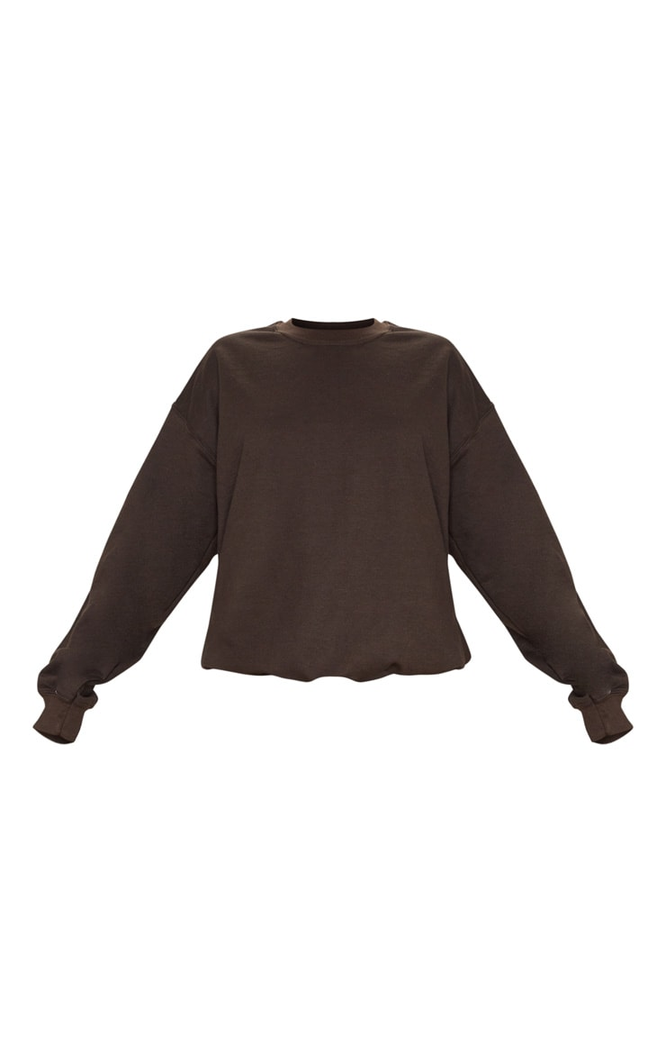 Chocolate Ultimate Oversized Sweater 5