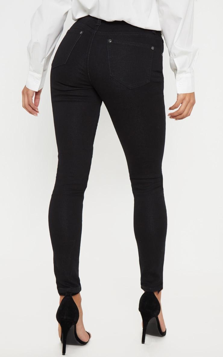 Black Skinny Fit Jean  4