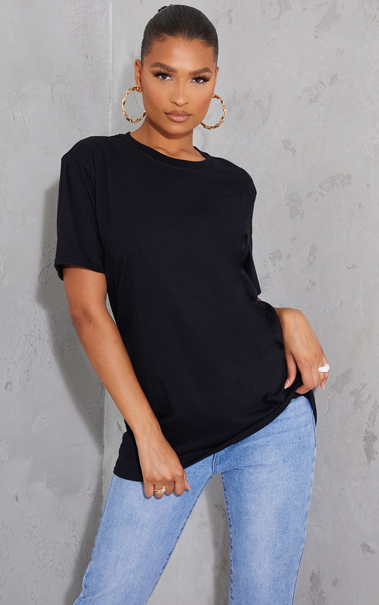 Black In Your Dreams Back Print T Shirt 2