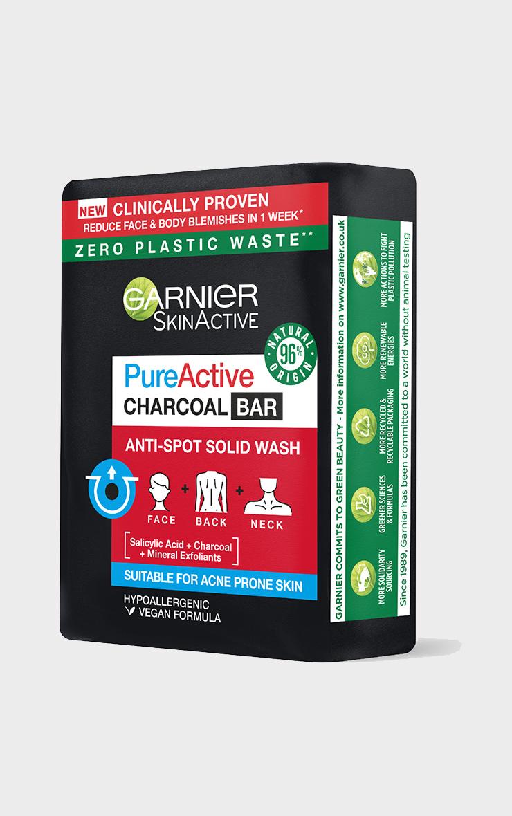 Garnier SkinActive Pure Active Charcoal Bar Anti-Spot & Blackhead Wash 2