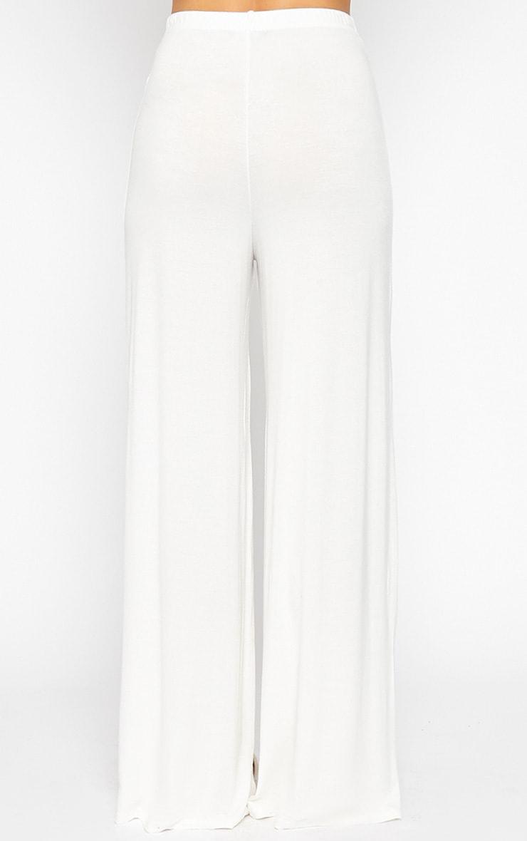 Radley Cream Wide Leg Trousers 3