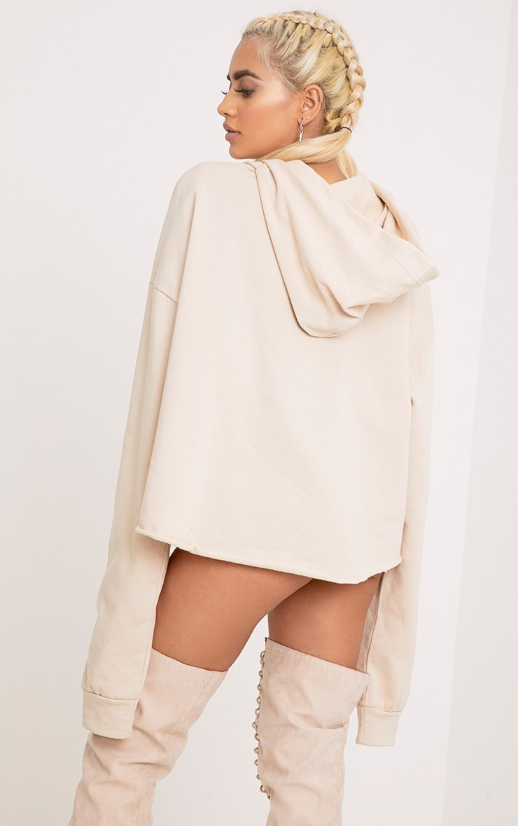Juliane Sand Extreme Open Front Hoodie 2