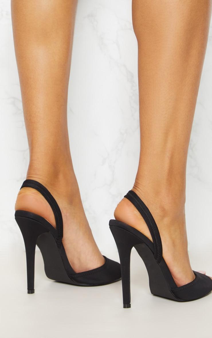 Black Slingback Sandal | Shoes