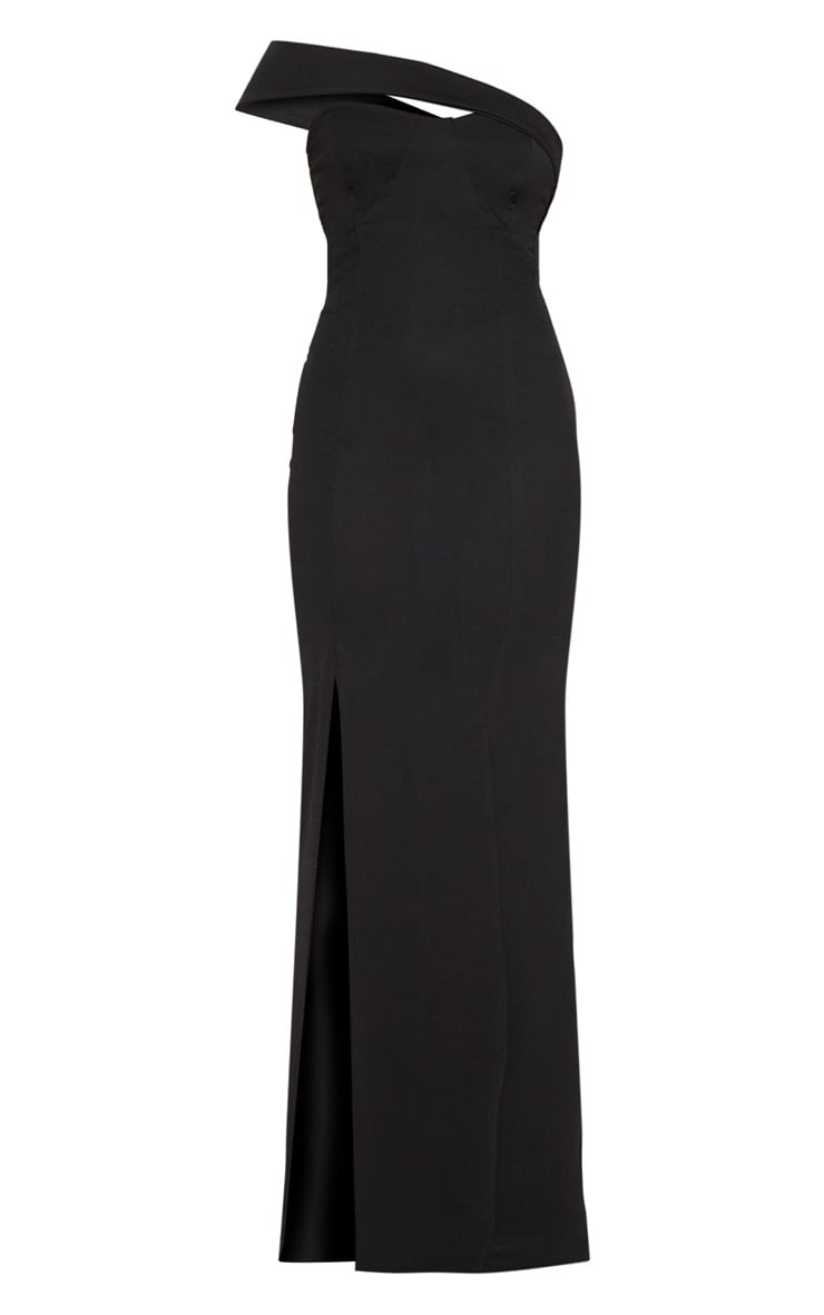 Black Cross Strap Detail Maxi Dress 3