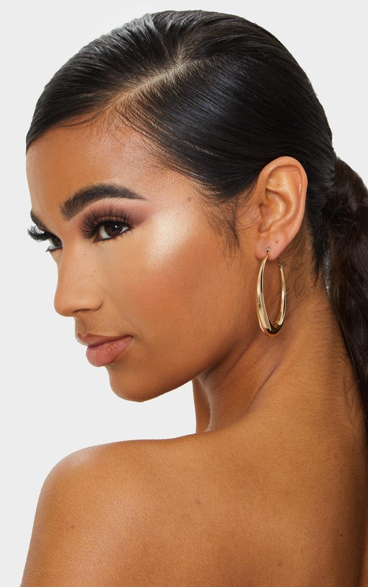 Gold Multi Pack Assorted Hoop Earrings 3