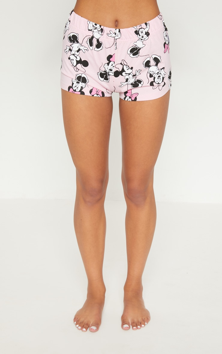 Pink DISNEY Minnie Mouse Printed Short Pyjama Set 6