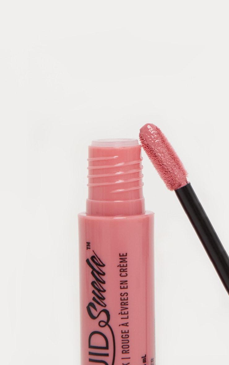 NYX Professional Makeup Liquid Suede Cream Lipstick Tea & Cookies 3