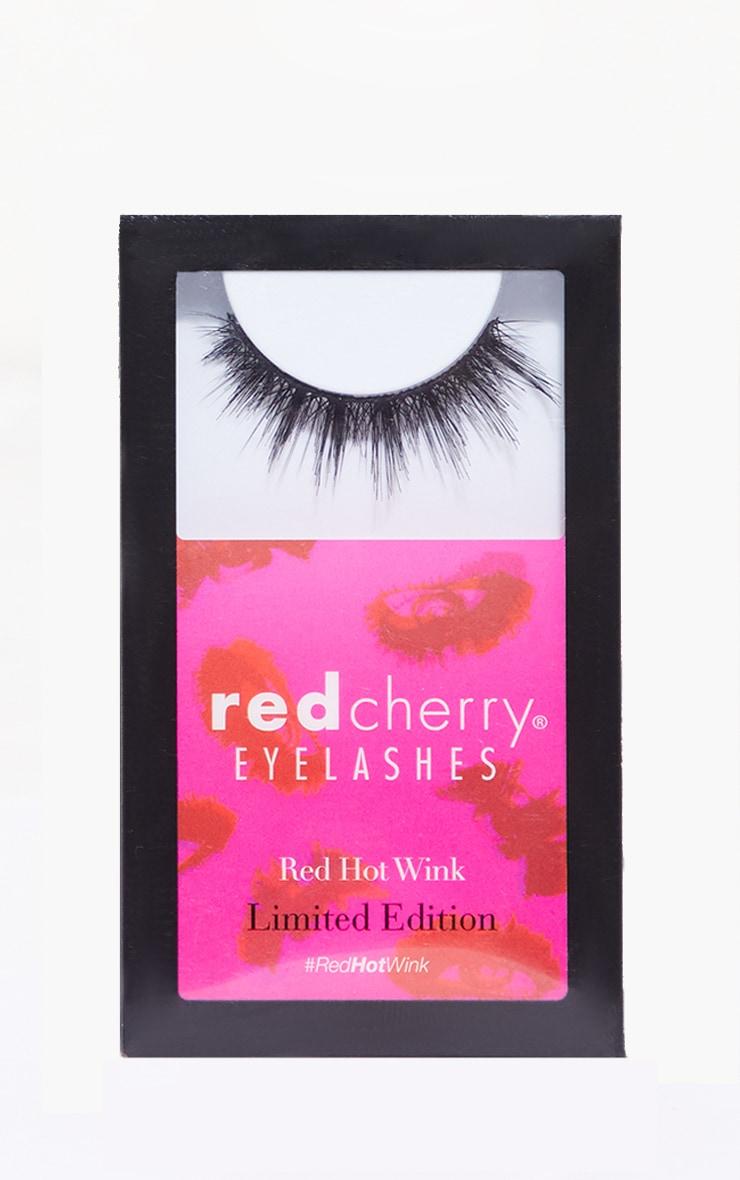 Red Cherry Eyelashes Femme Flare