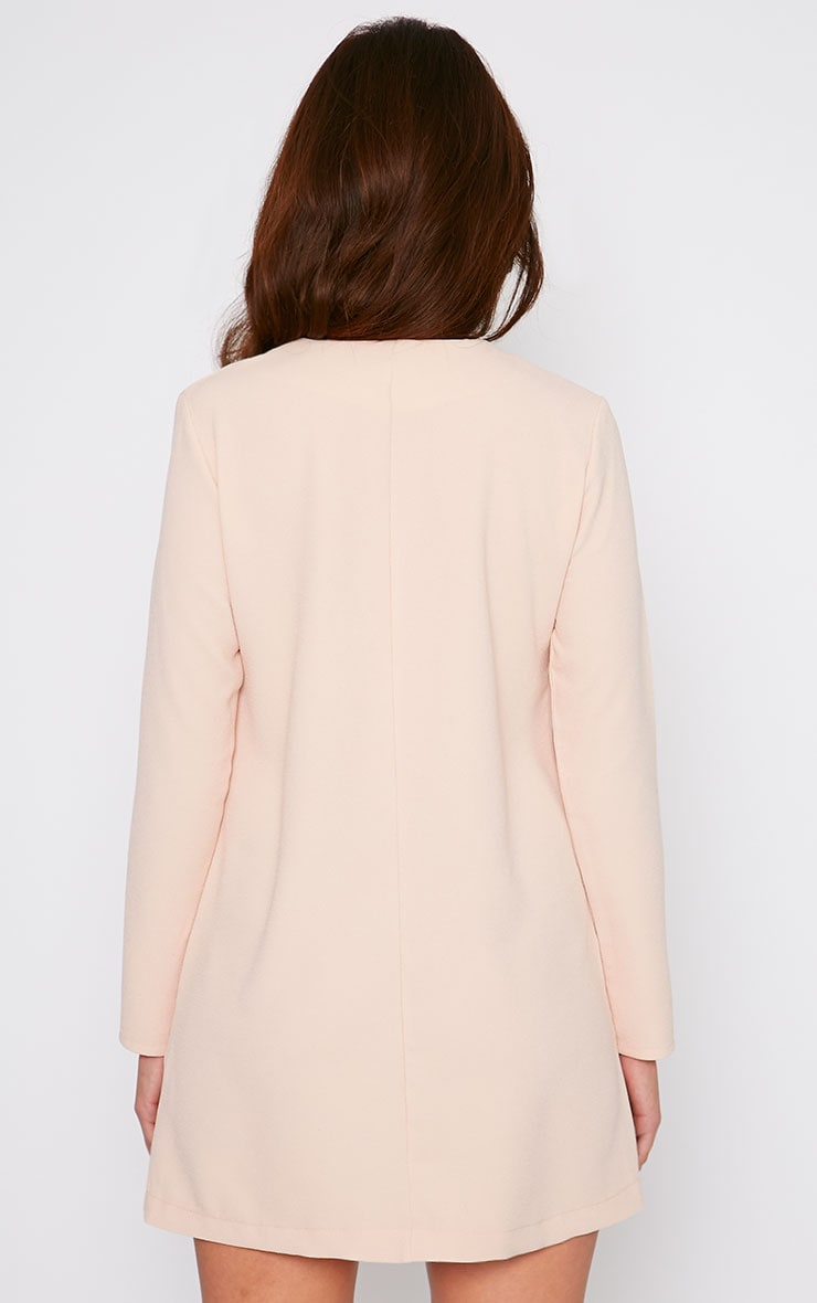 Jemima Nude Loose Fit Blazer Dress 2