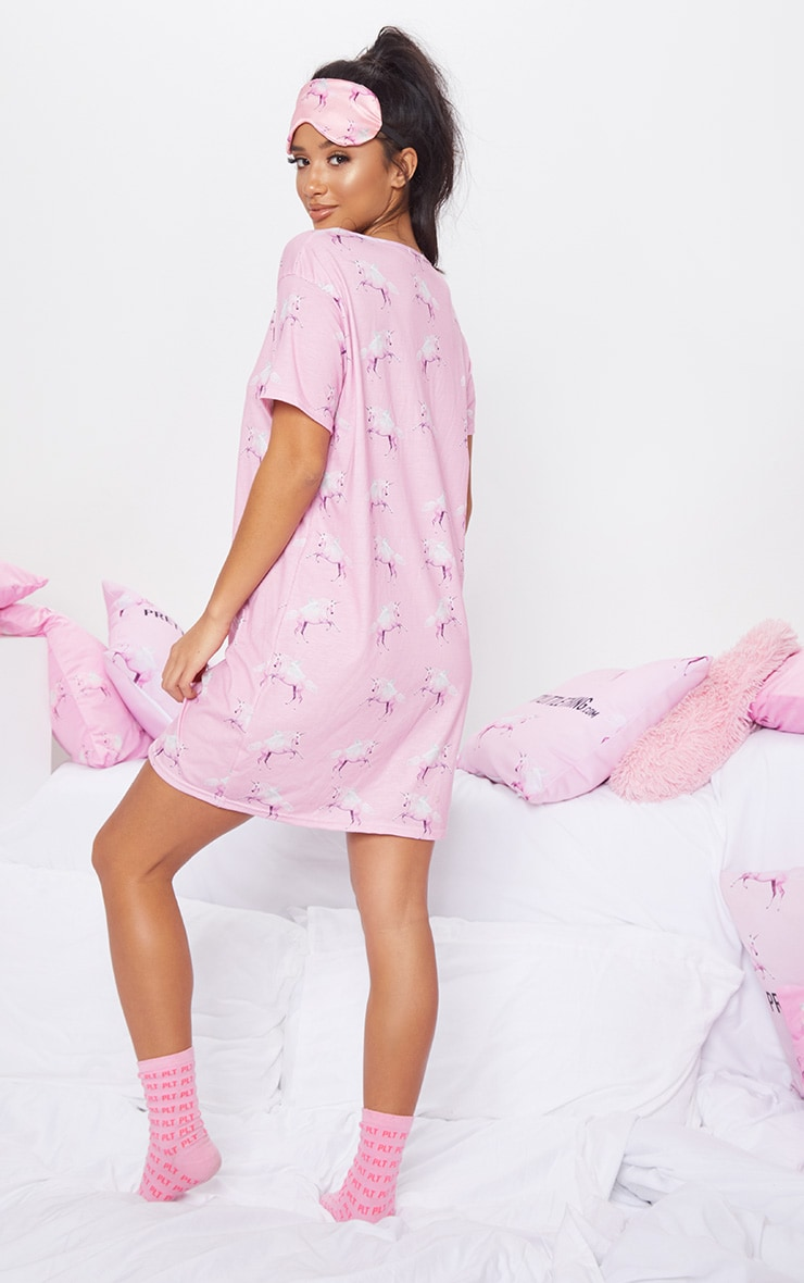 PRETTYLITTLETHING Unicorn Nightie 2