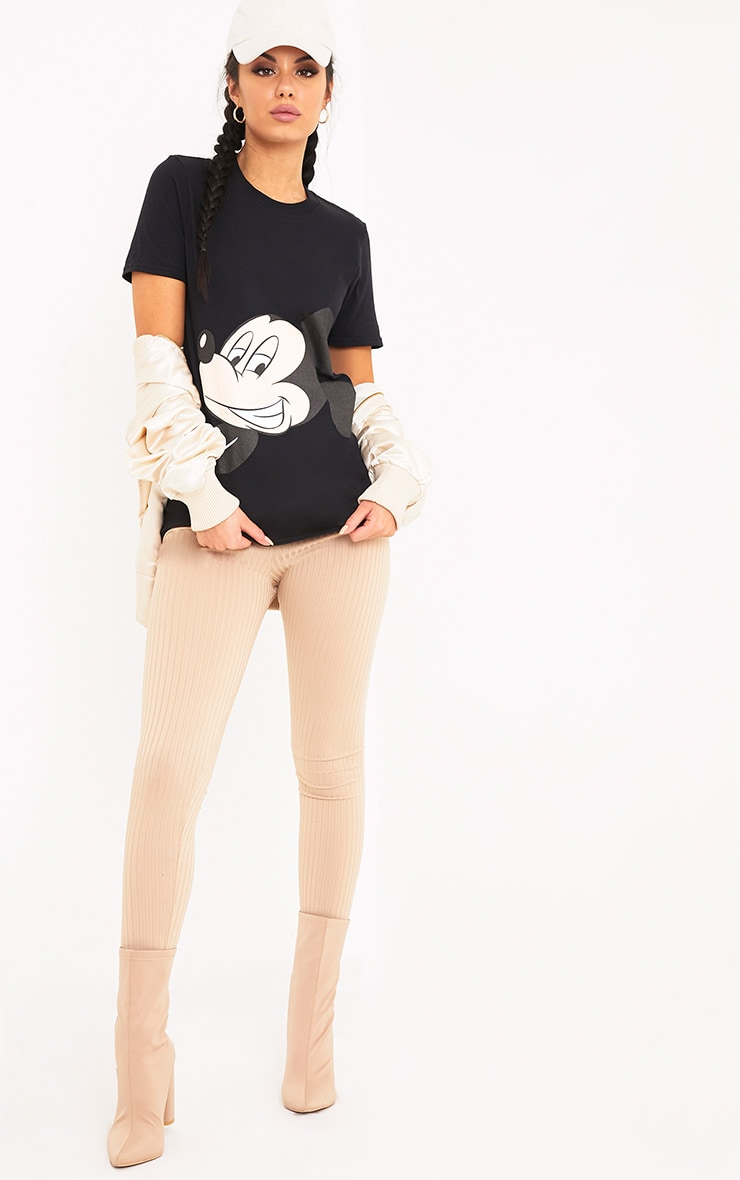Mickey Mouse Black T Shirt  4
