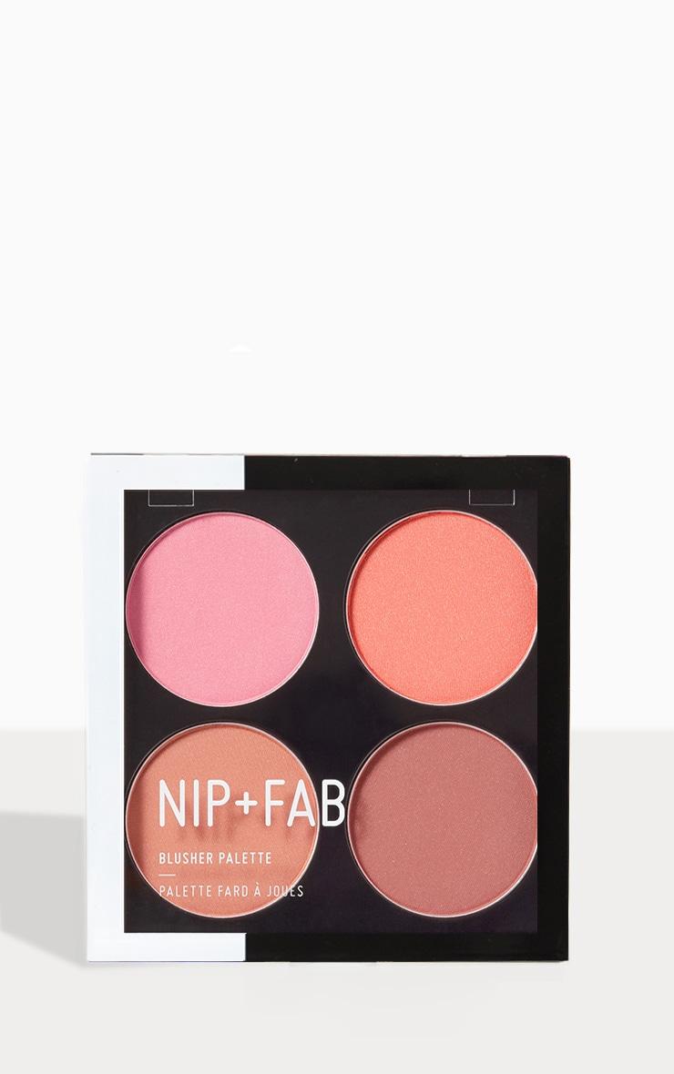 Nip & Fab Blushed Blusher Palette 1