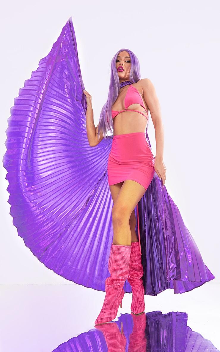 Ailes violettes irisées 1
