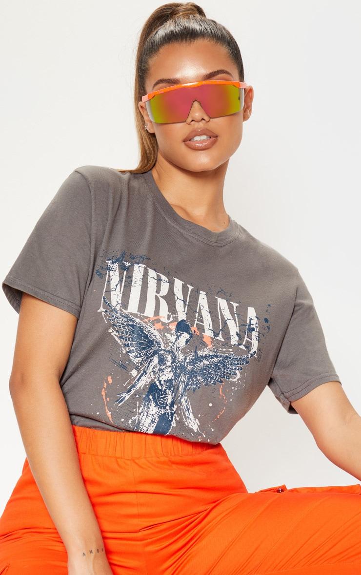 nirvana grey shirt