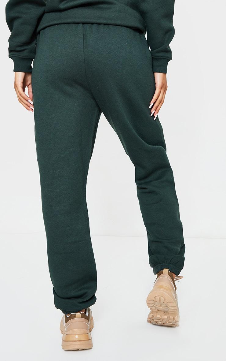 Emerald Green Sweat Pant Joggers 3