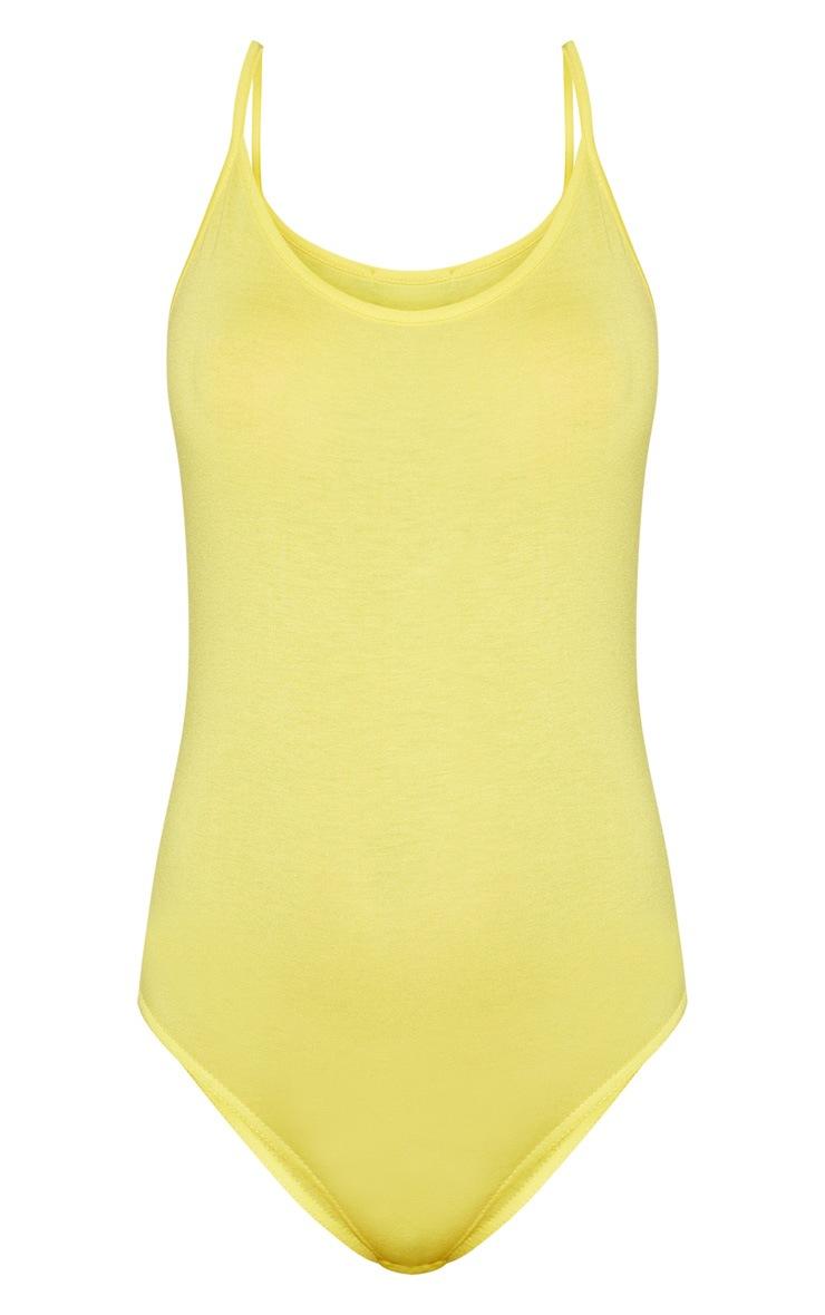 Basic Lemon Bodysuit 3