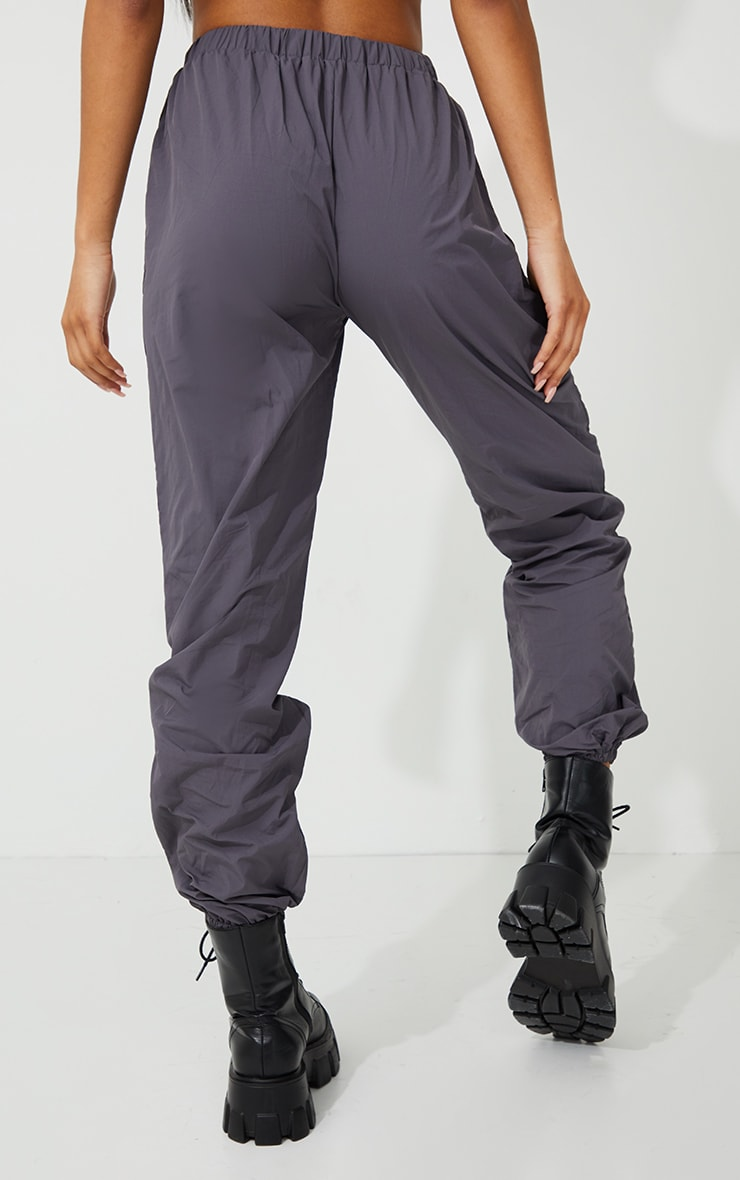 Grey Oversized Joggers 3