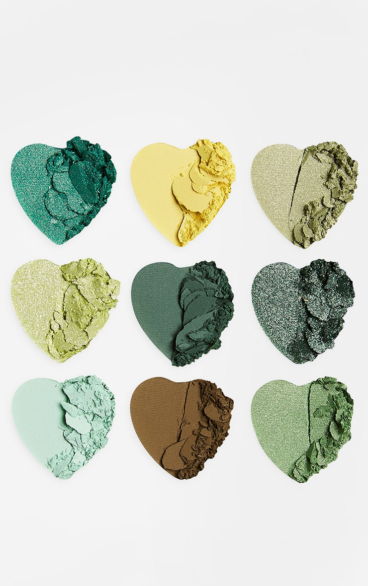 I Heart Revolution Heartbreakers Eyeshadow Palette Lucky 3