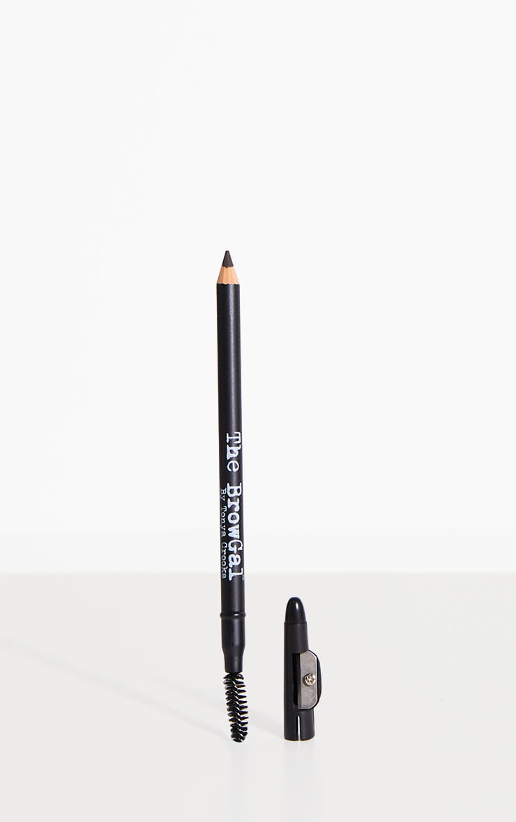 The BrowGal - Crayon à sourcils skinny 01 Black