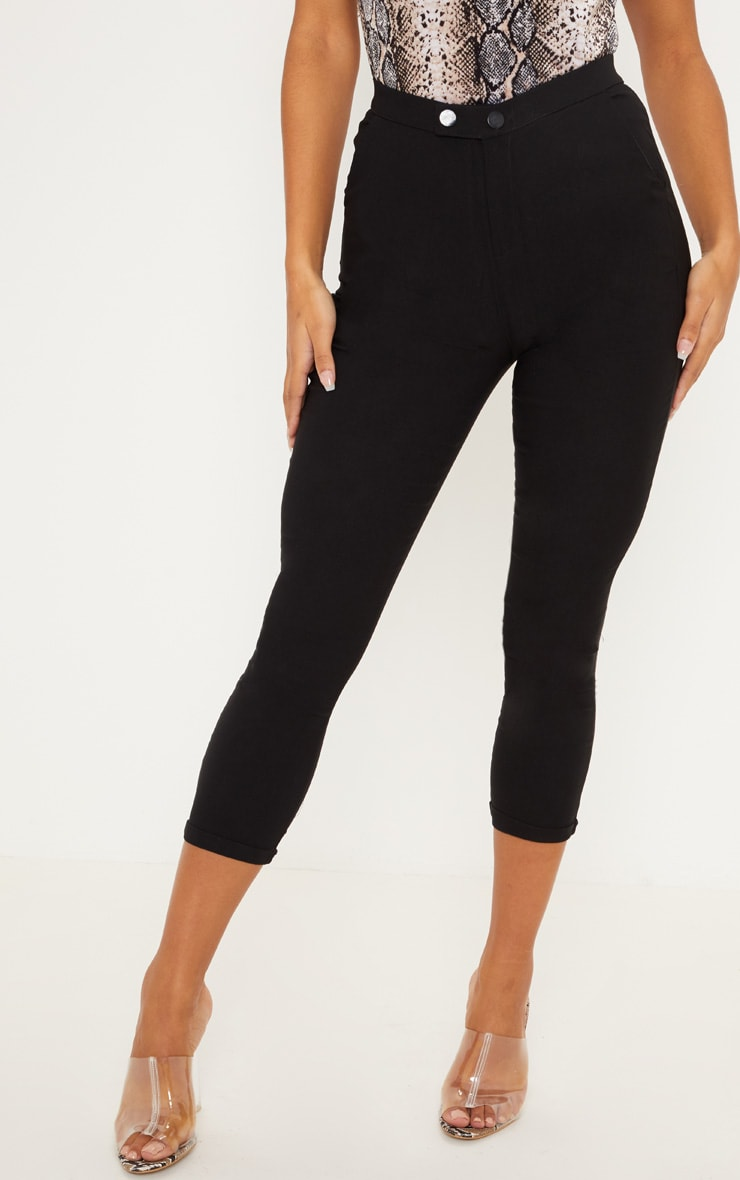 Simi Black High Waisted Jeggings 2