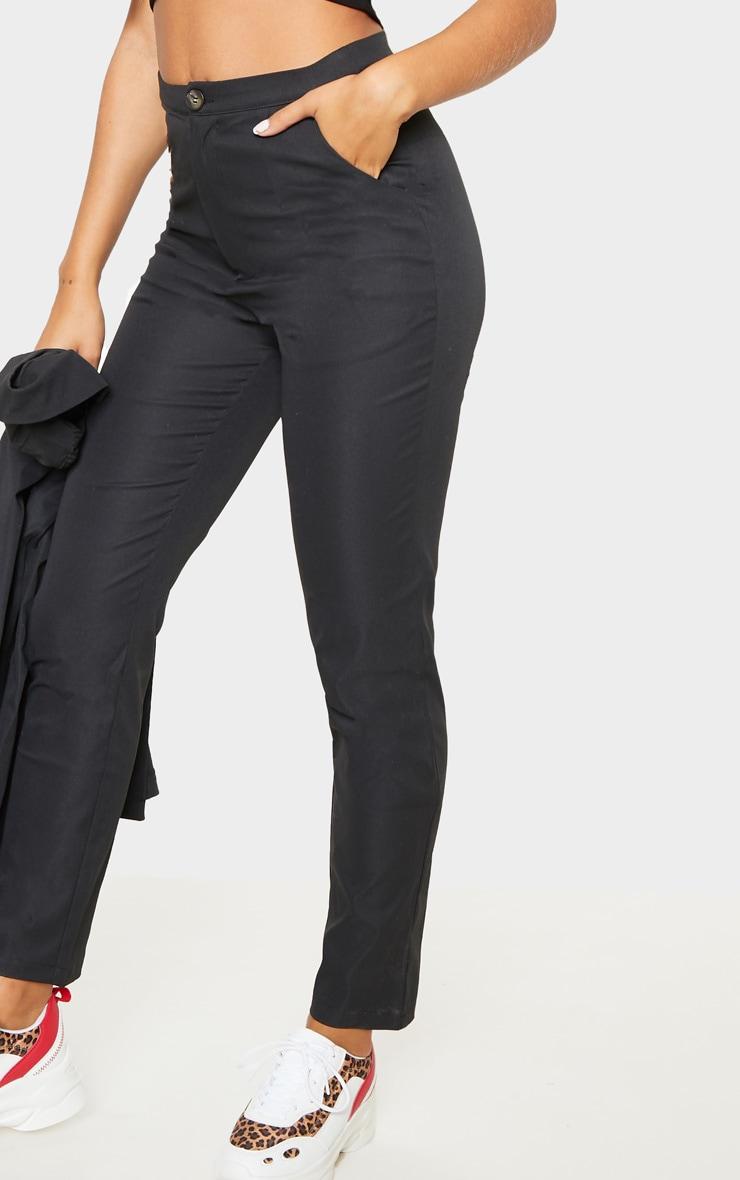 Black Button Detail Trouser 5