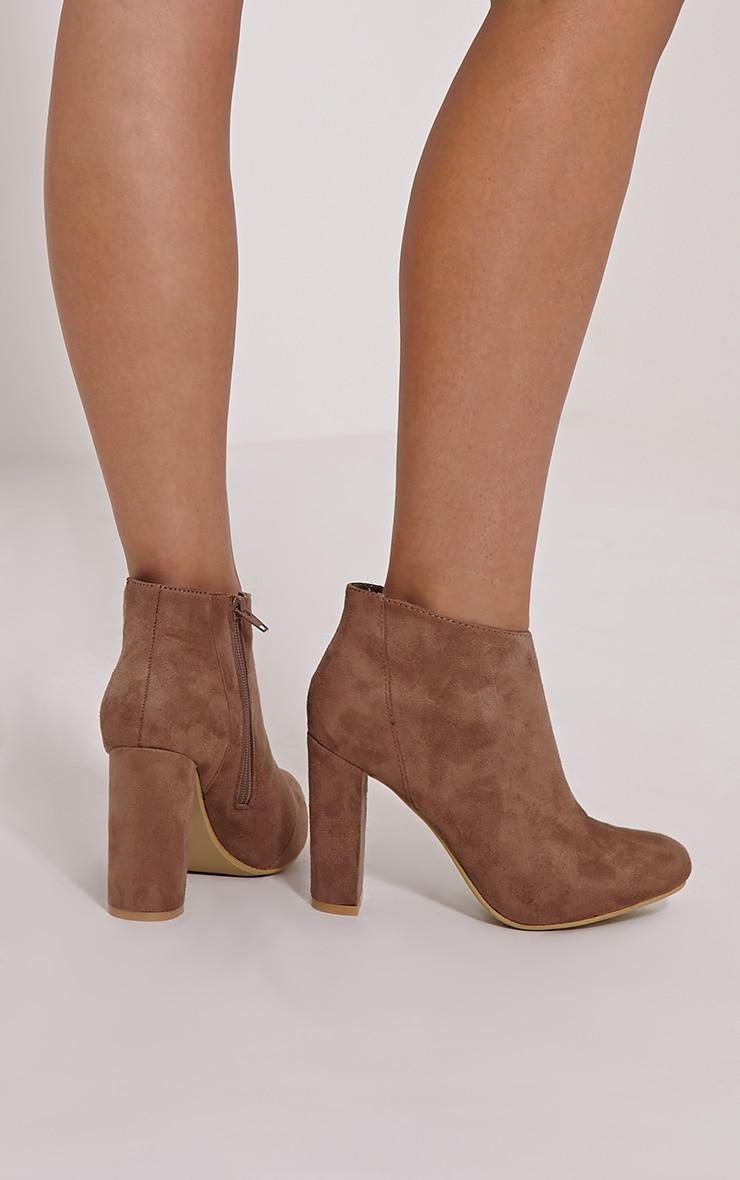 Roux Mocha Suede Ankle Boot 2