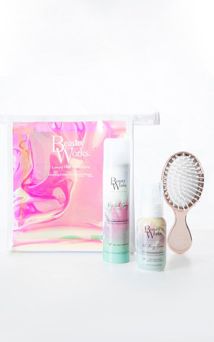 Beauty Works Dry Oil x Anti Frizz Serum Travel Set (Worth £32) 1