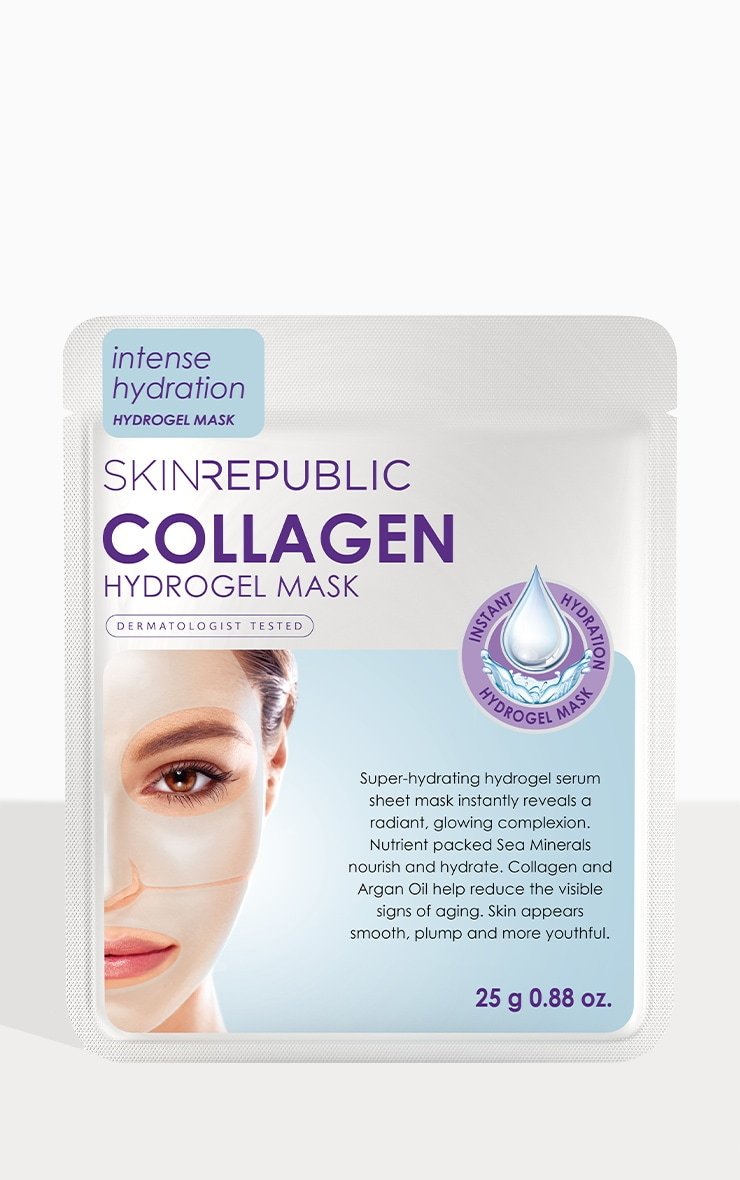 Skin Republic Collagen Hydrogel Sheet Face Mask 1