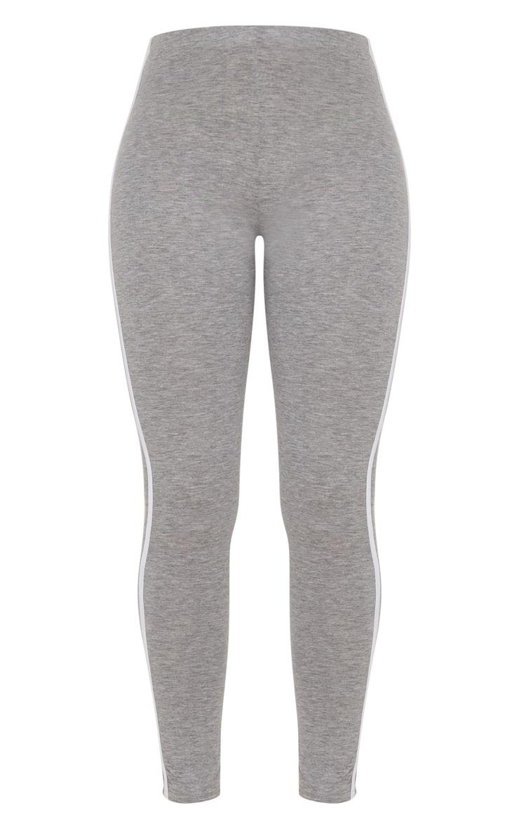 Grey Ultimate Contrast Stripe Leggings  3