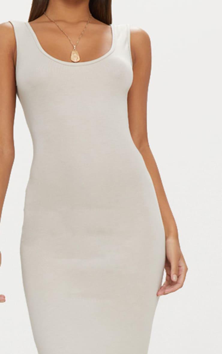 Stone Basic Scoop Neck Maxi Dress 4