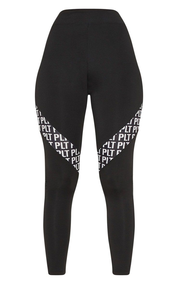 PLT Monochrome Panel Leggings 3