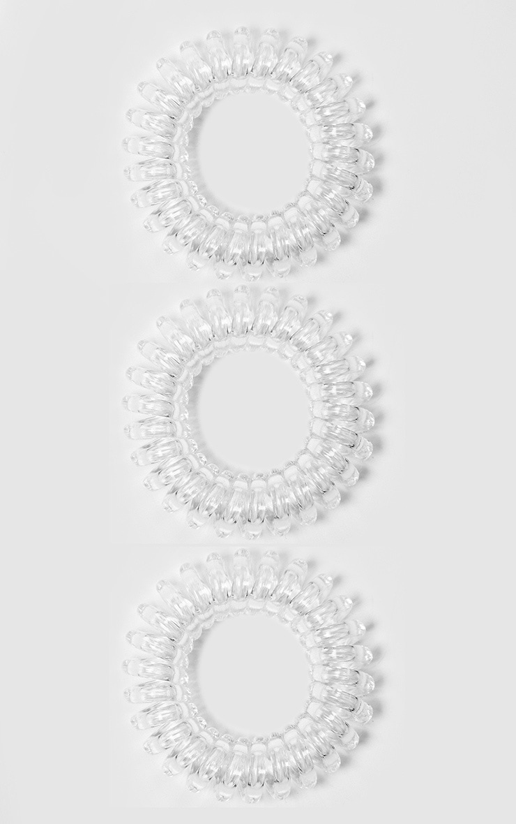 Invisibobble Original Crystal Clear Hair Ties 2