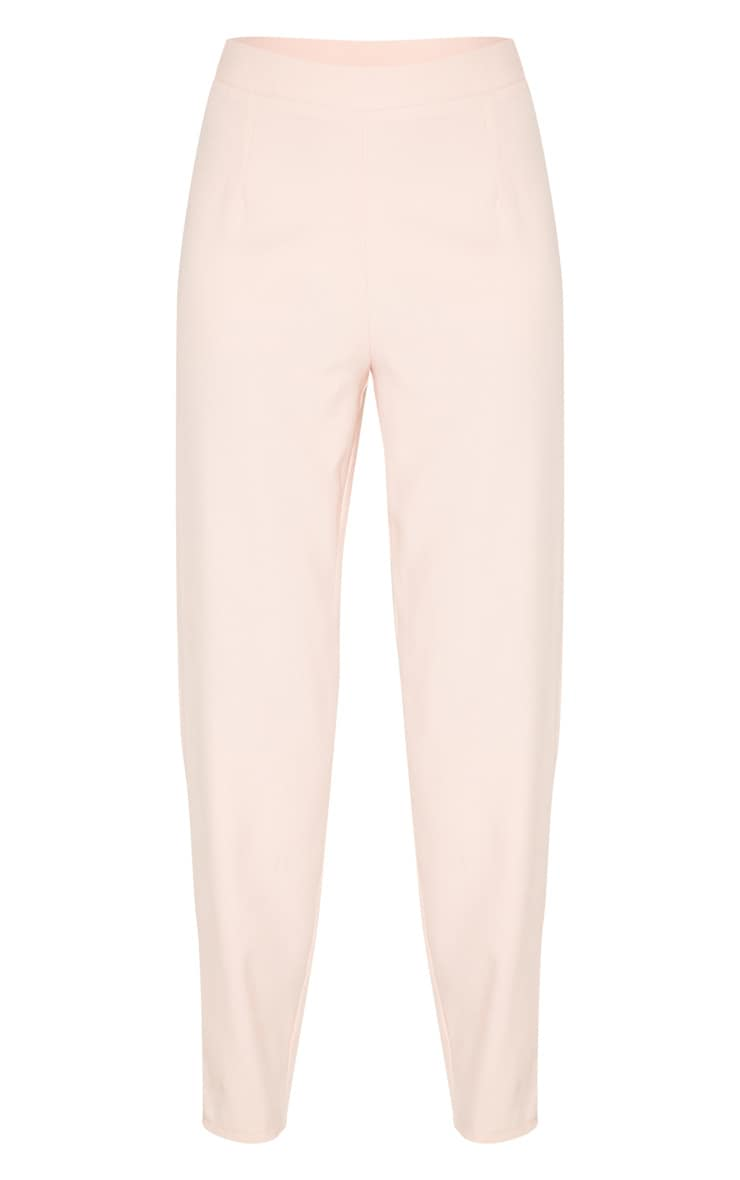 Tall Dusty Pink Wide Leg Slim Cuff Suit Pants 3