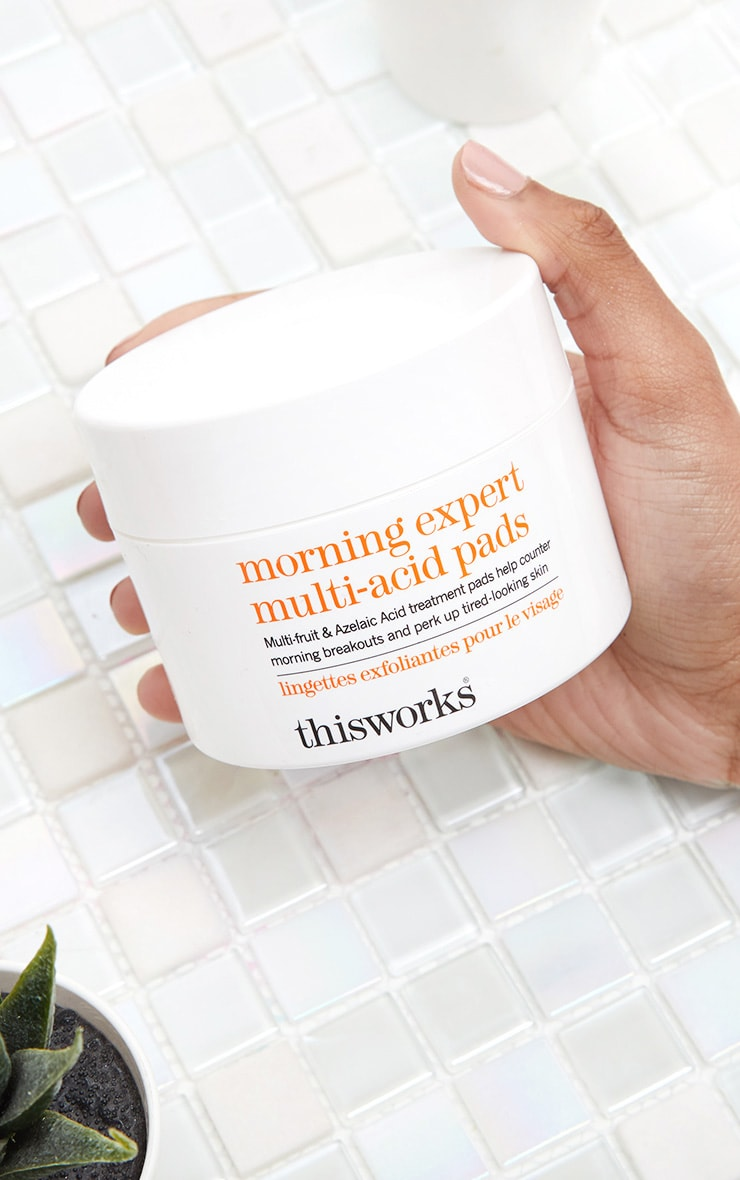 This Works Morning Expert Multi-Acid Daily Exfoliating Pads 60Pcs 2