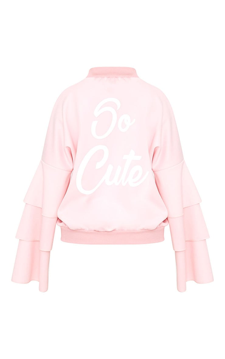 Shape Pink So Cute Bomber Jacket 4