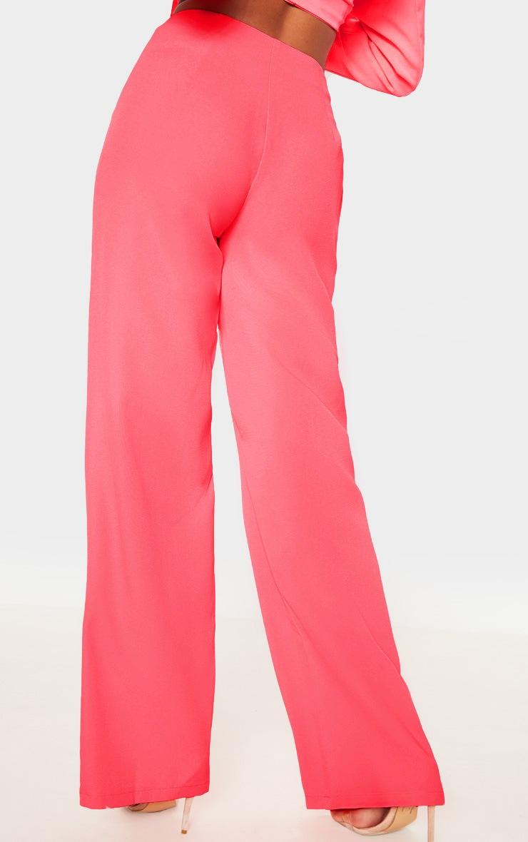Coral Wide Leg Pants 4