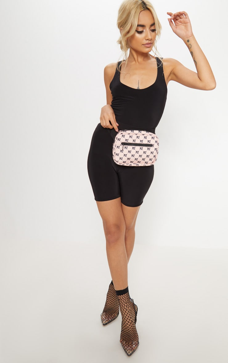 PRETTYLITTLETHING Pink Logo Bum Bag 2