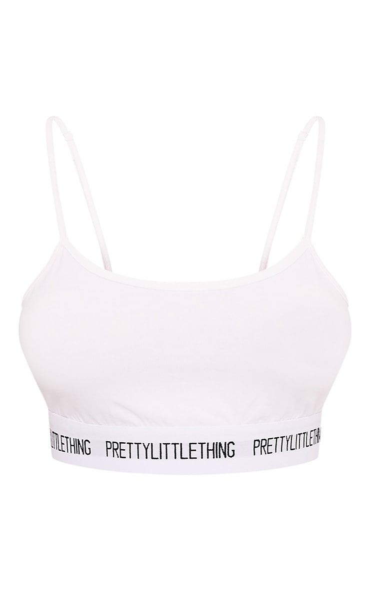 Soutien-gorge blanc PRETTYLITTLETHING 3