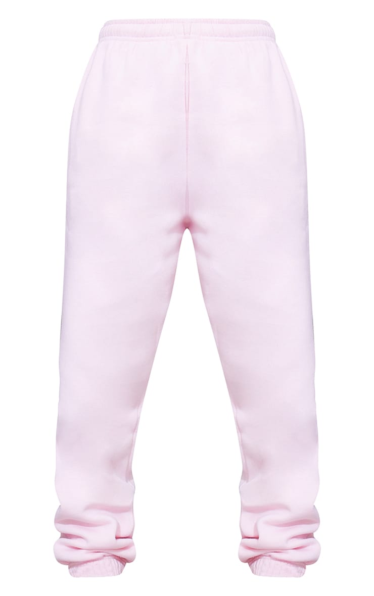 Baby Pink Casual Track Pants 5