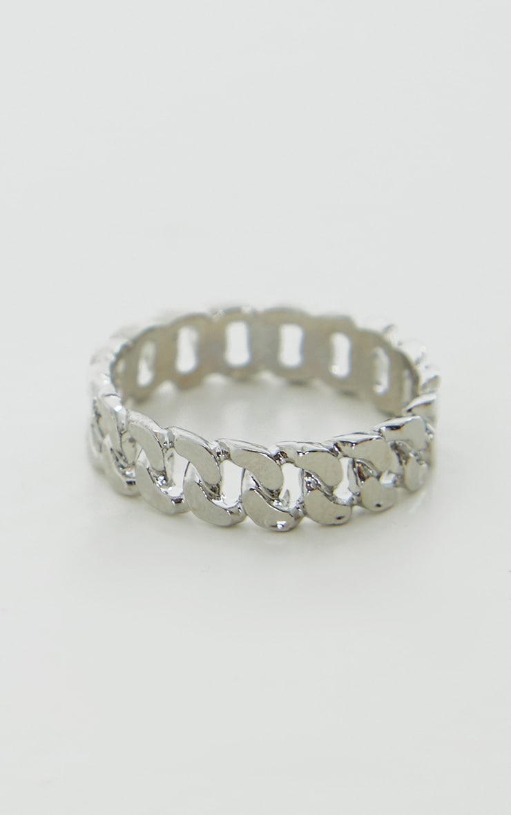 Silver Chain Ring 1