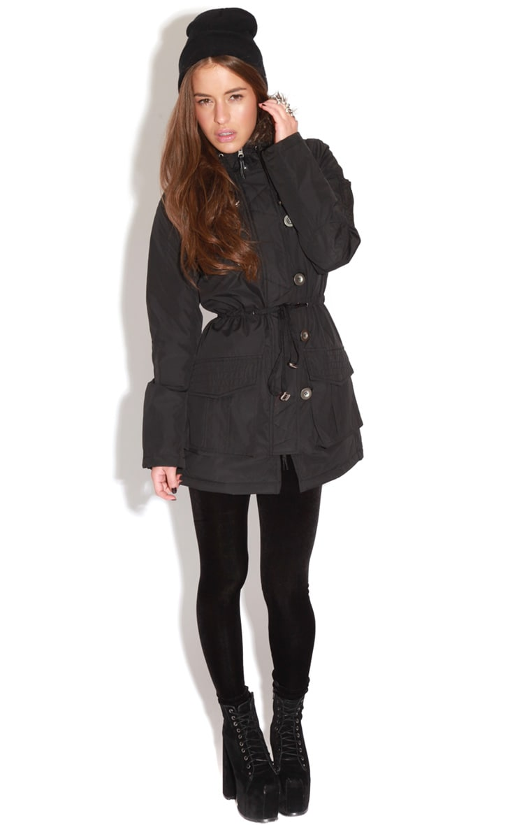PADDED PARKER COAT 3