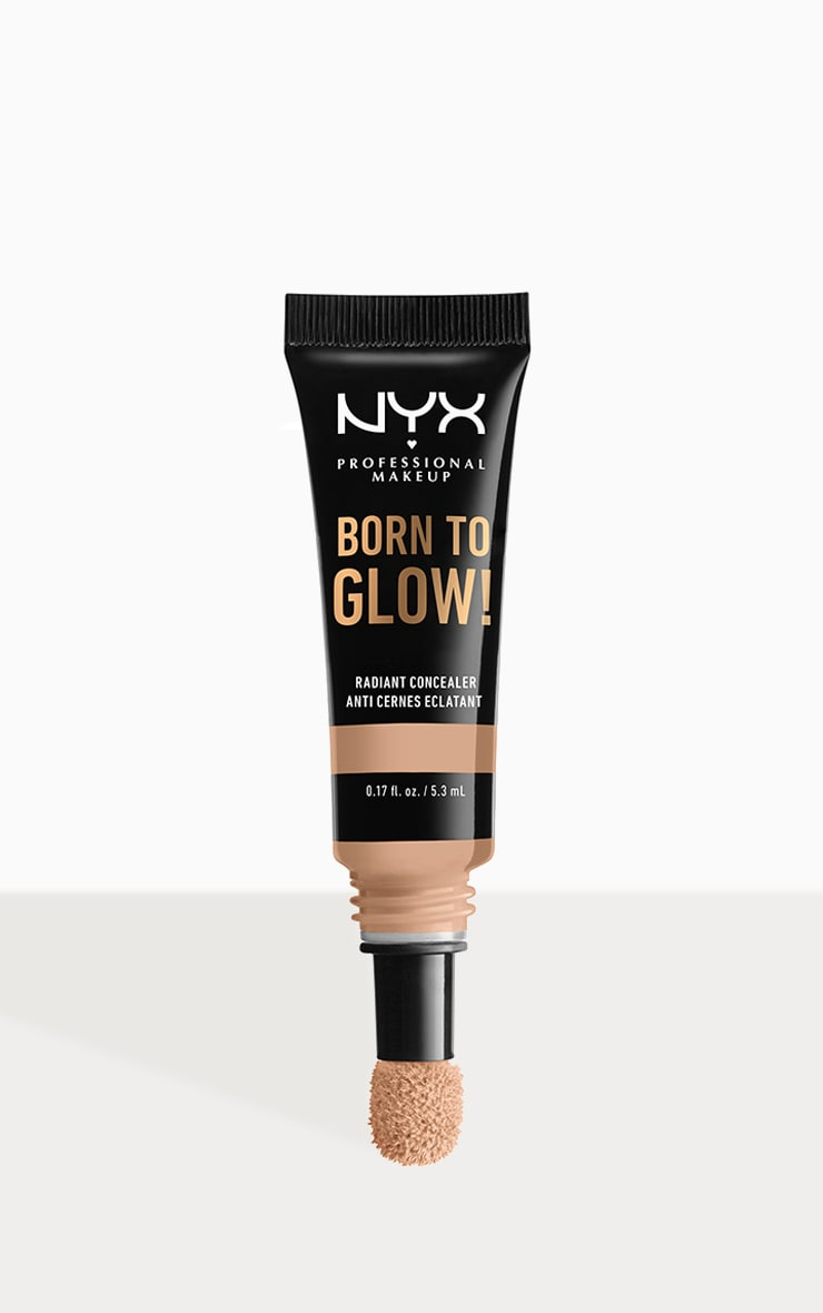 NYX PMU Born To Glow Radiant Concealer Natural 1