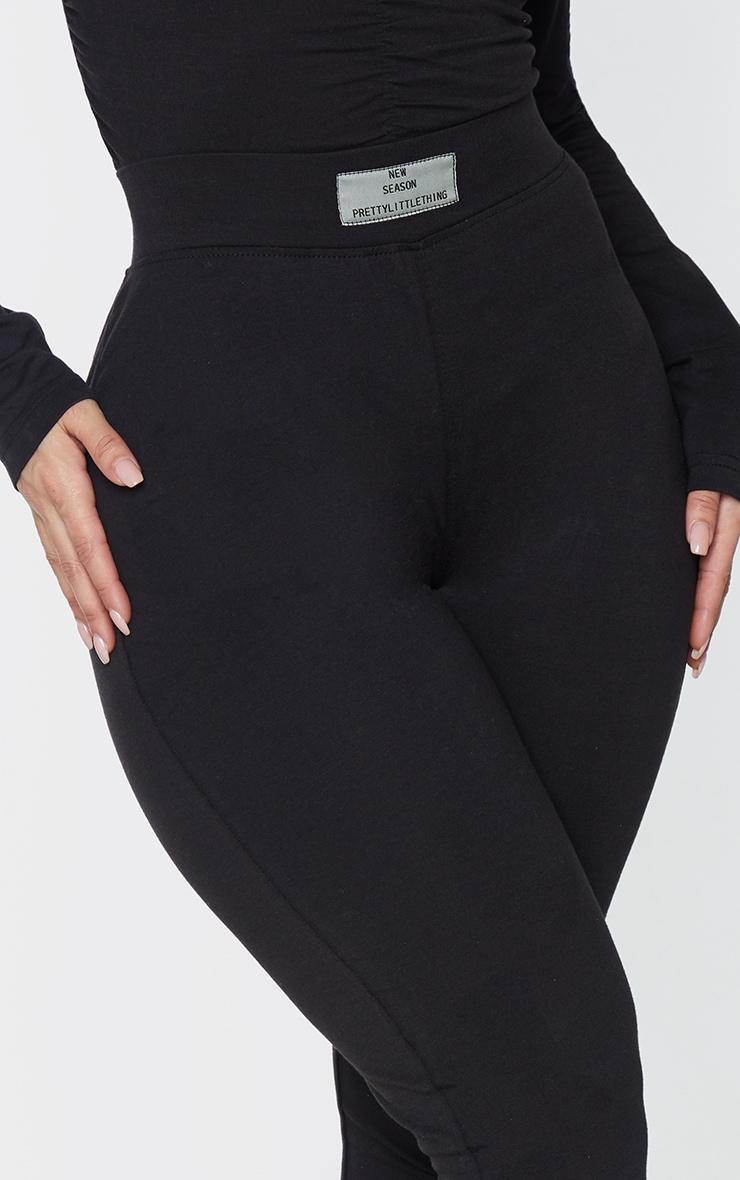 PRETTYLITTLETHING Shape Black New Season Ruched Bum Leggings 4