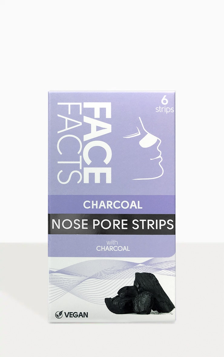Six Pack Deep Cleansing Charcoal Nose Strips 1