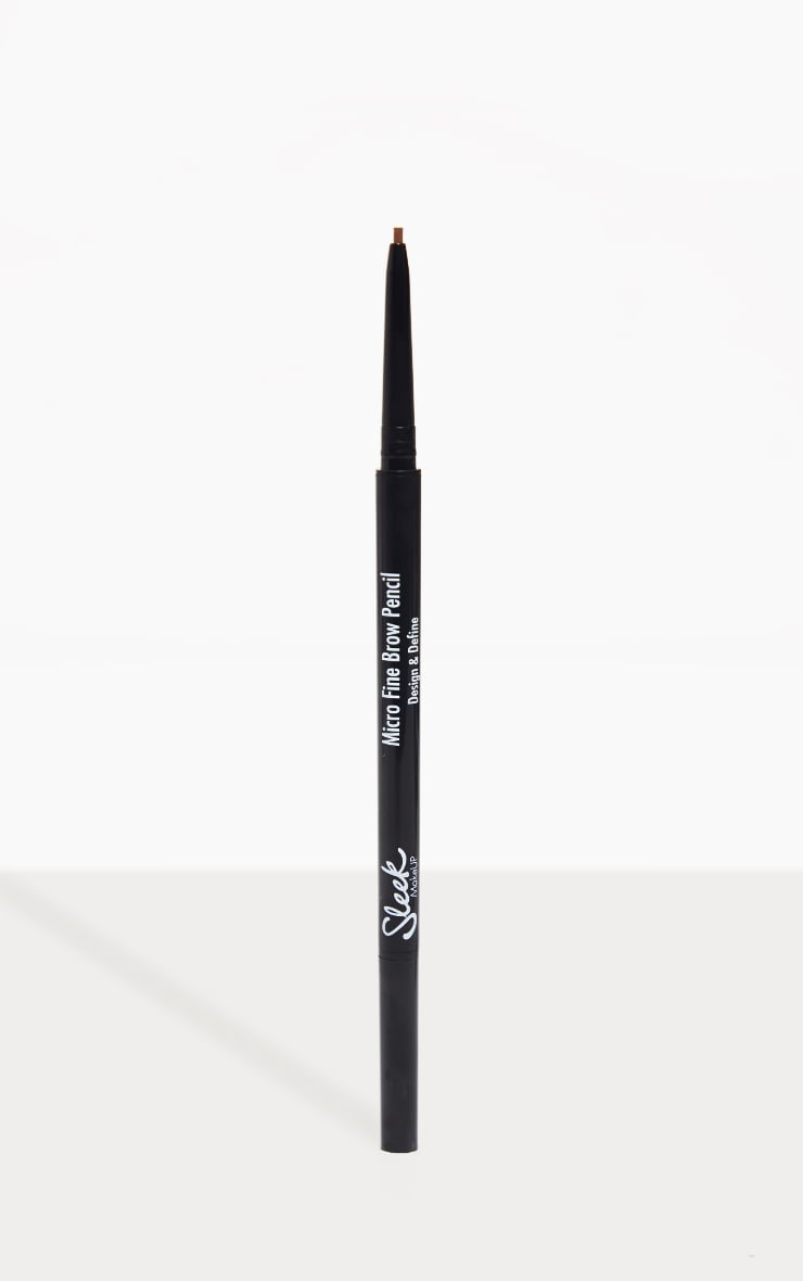Sleek MakeUP Micro Fine Brow Pencil Medium Brown 1