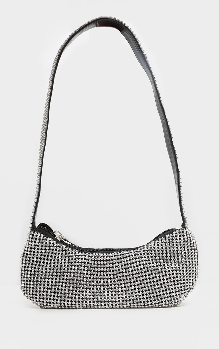 Chainmail 90's Diamante Shoulder Bag 1