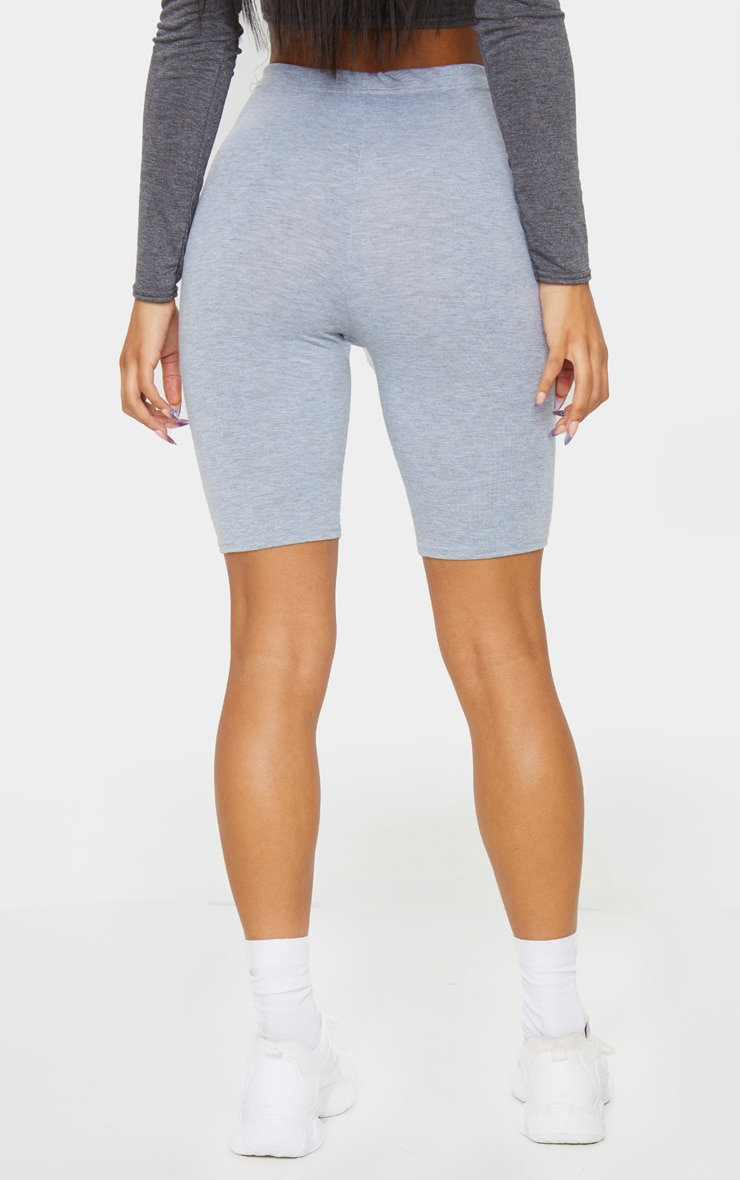 Essential Jersey Grey Cycle Shorts 3