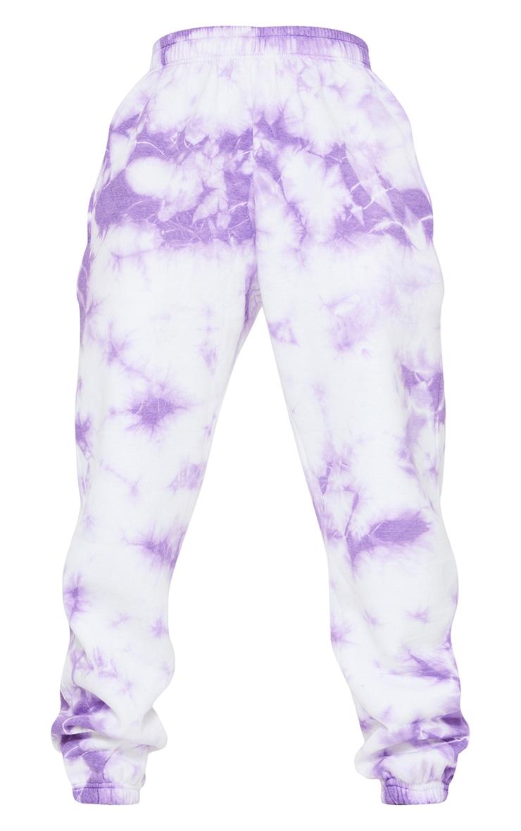 Tall Lilac Tie Dye High Waist Joggers 5