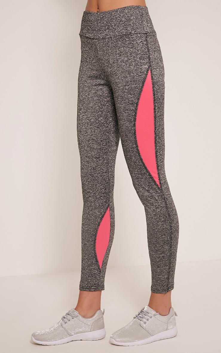 Jennie Legging sport à bandes roses 4